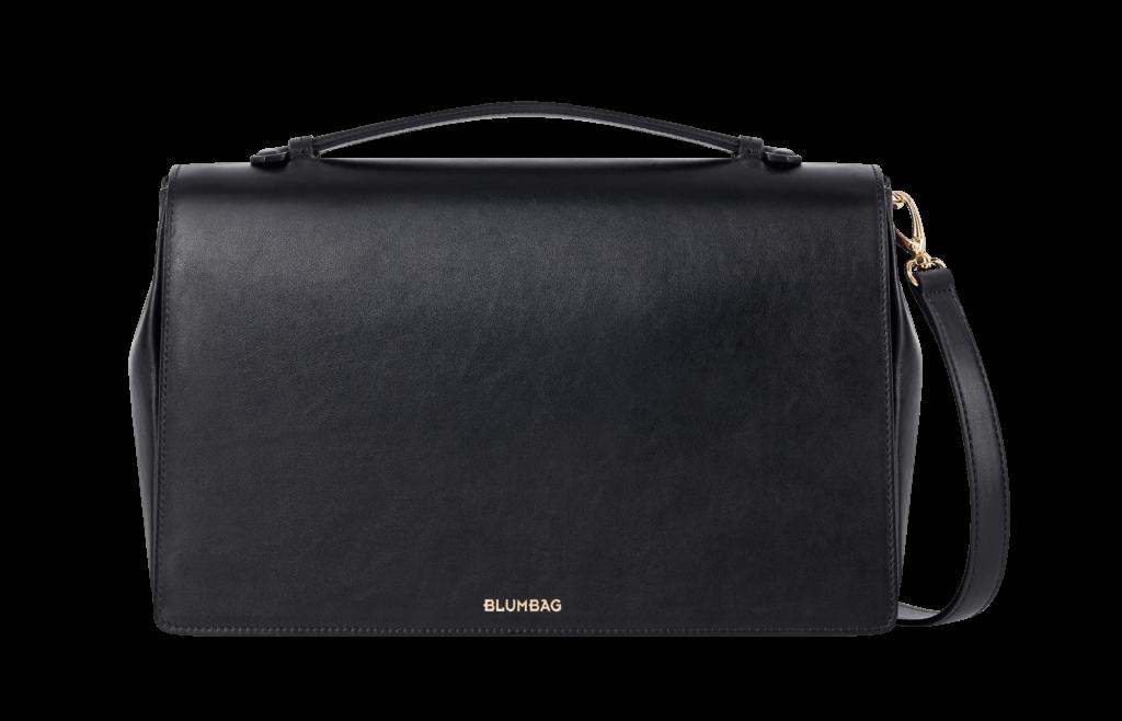 Blumbag_Handbag-Model-I_black_frontal